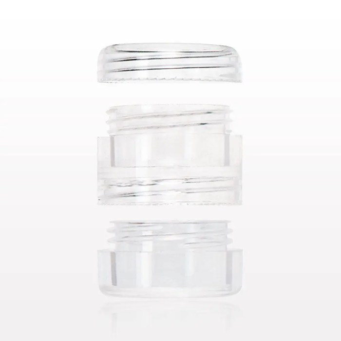 Threaded Stackable Jars a...