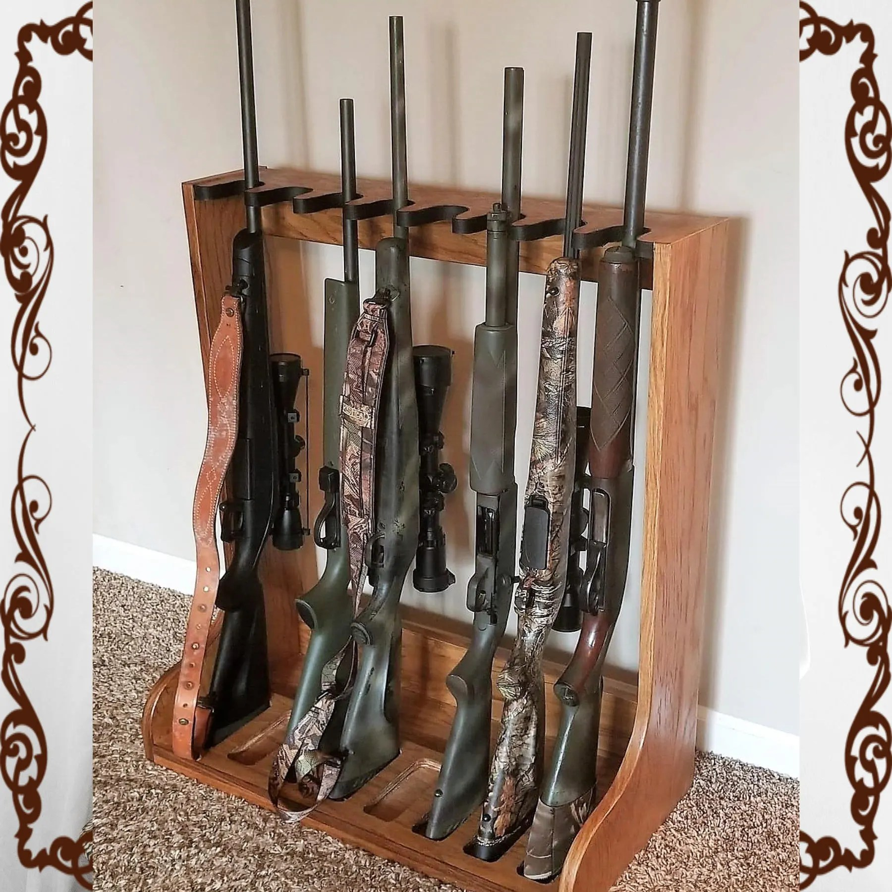 rifle rack etsy