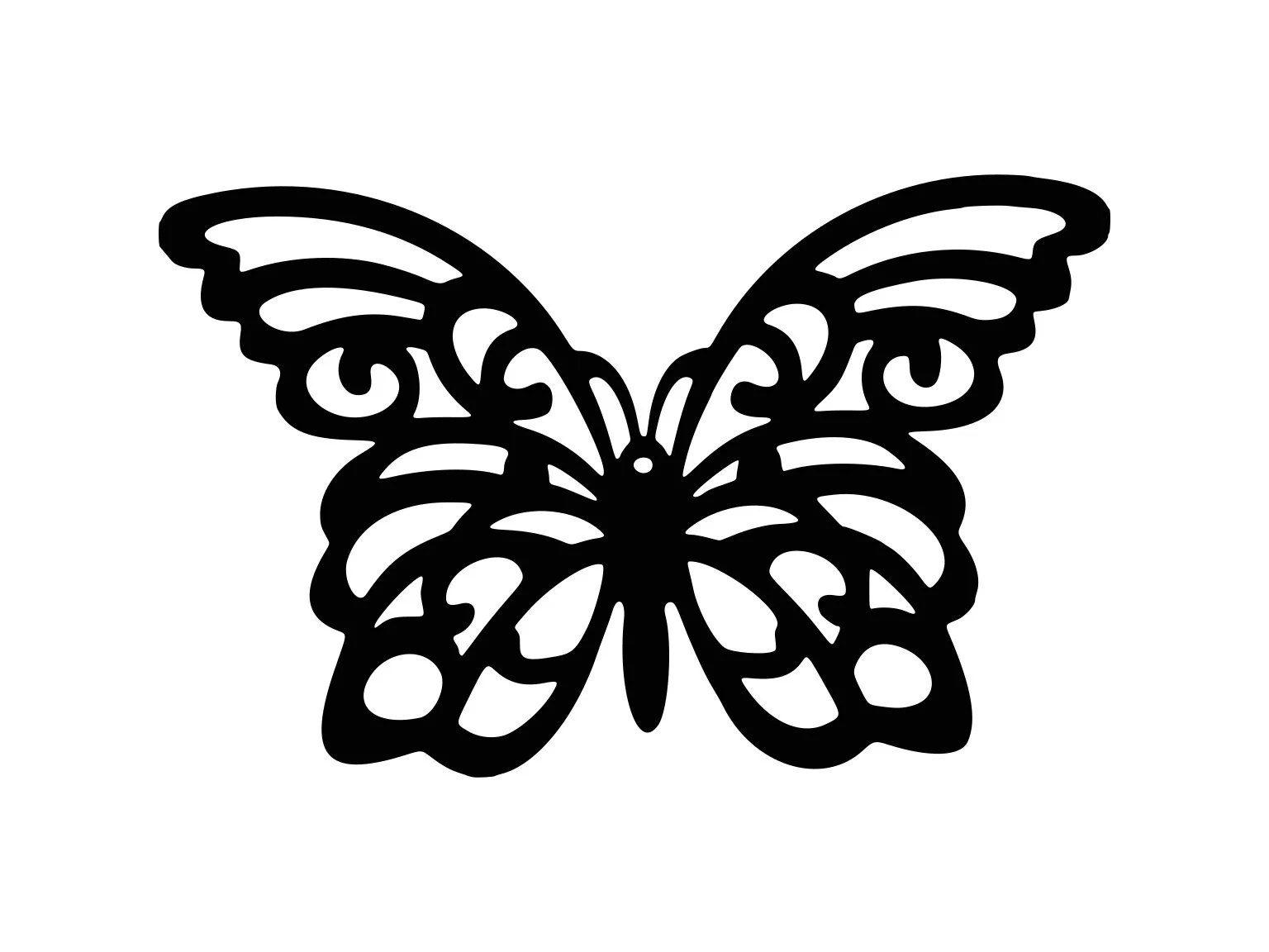 Butterfly Svg Lace Butterfly Svg Swirl Silhouette Cutting
