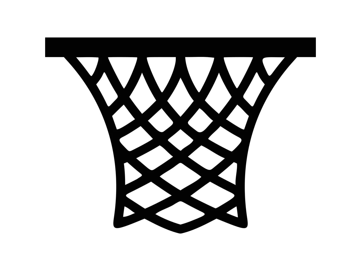 Basketball Hoop Clipart Basketball Svg Basketball Net Svg