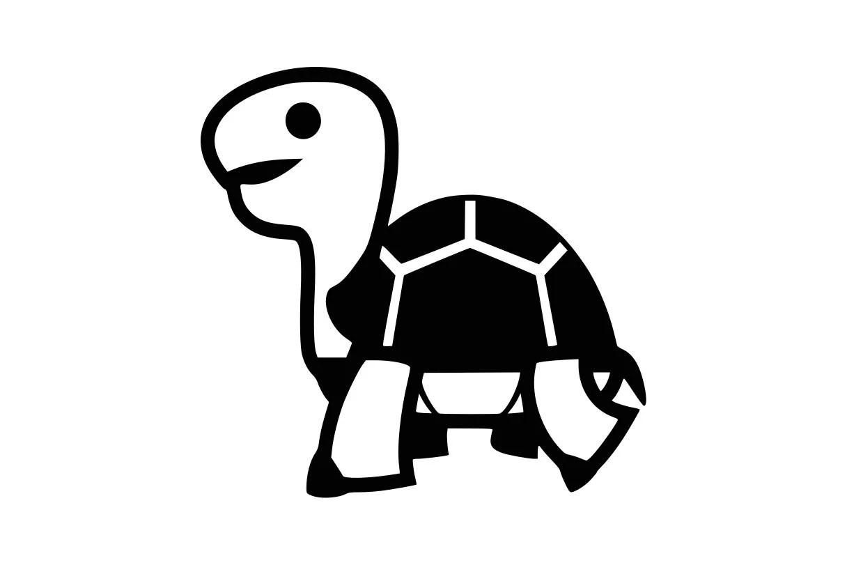 Tortue Svg Tortues Clipart Svg Fichiers Turtle Vecteur