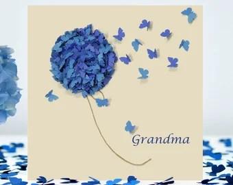 Grandma Card Etsy
