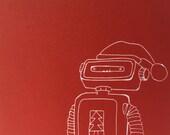 Robot Christmas Card...