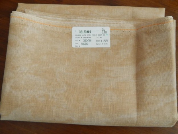 Country Mocha/Vintage Country Mocha Linen 28 32 36 or 40 image 0