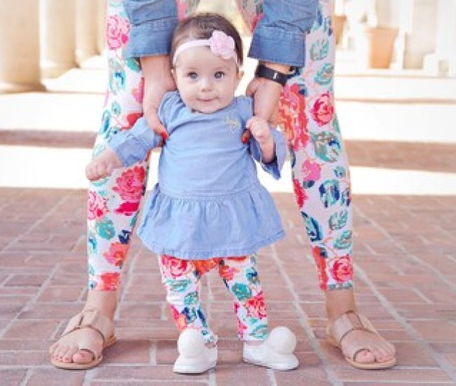 Mommy And Me Outfits Baby Girl Clothes Mothers Day Gift Baby Shower Gift New Mom Gift Leggings Yoga Leggings Baby Girl