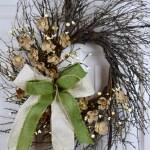 Home Decor 18 Primitive Christmas Wreath Rekreacija Rs
