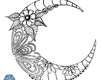 Download SVG & DXF design Live by the Sun Love by the Moon doodle