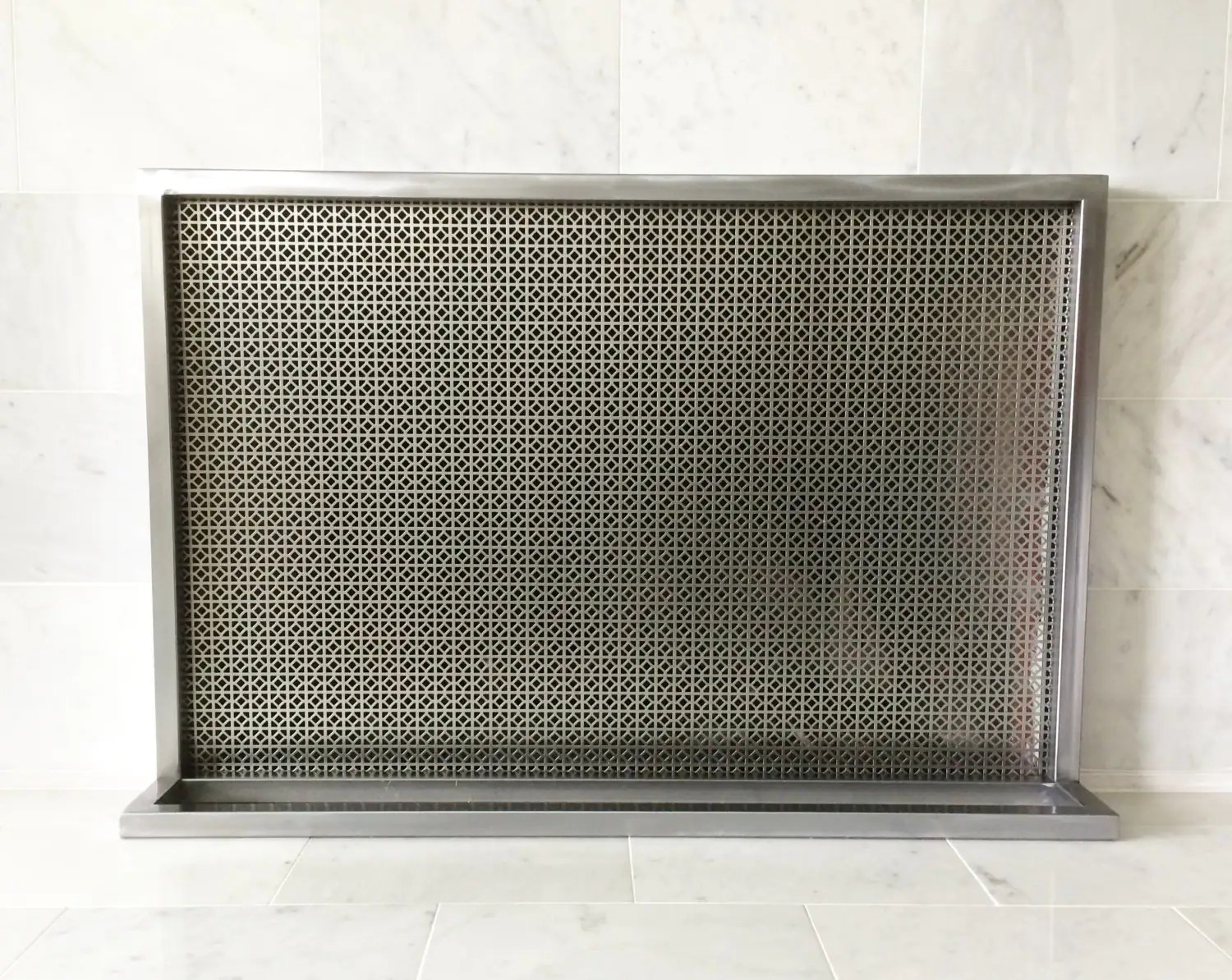 Ima Fireplace Screen Cover Simple Modern Contemporary