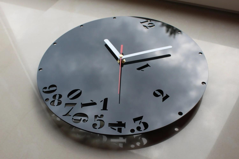 Wall Falling Numbers Modern Clock Large Wall Clock Gift Wall