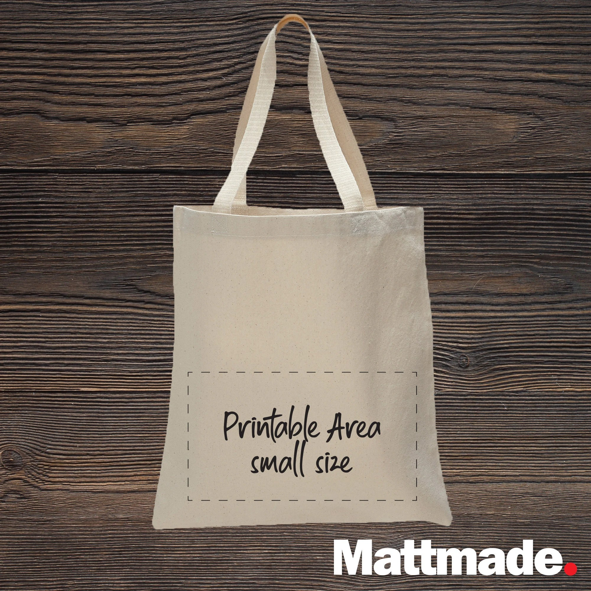Custom Canvas Tote Bag / Natural Canvas Personalized Shopping image 2