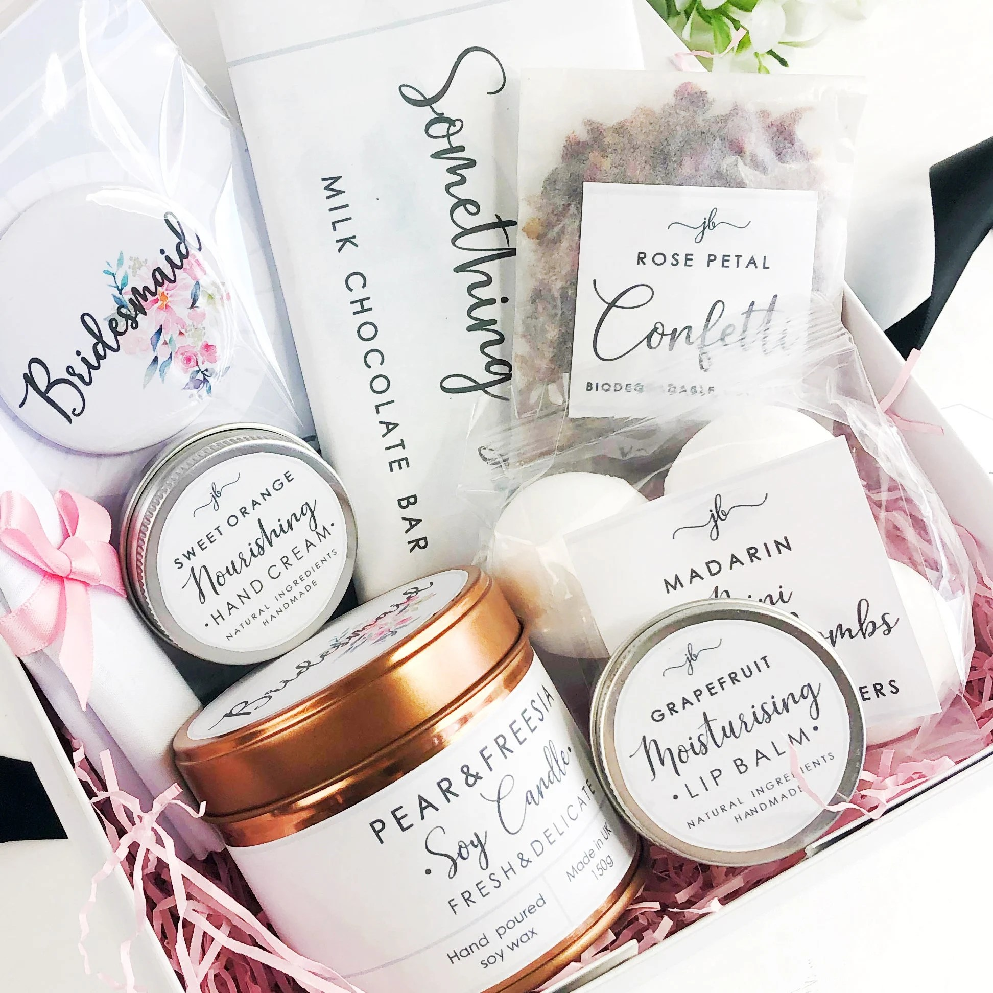 Pre filled will you be my Bridesmaid box. Personalised image 7