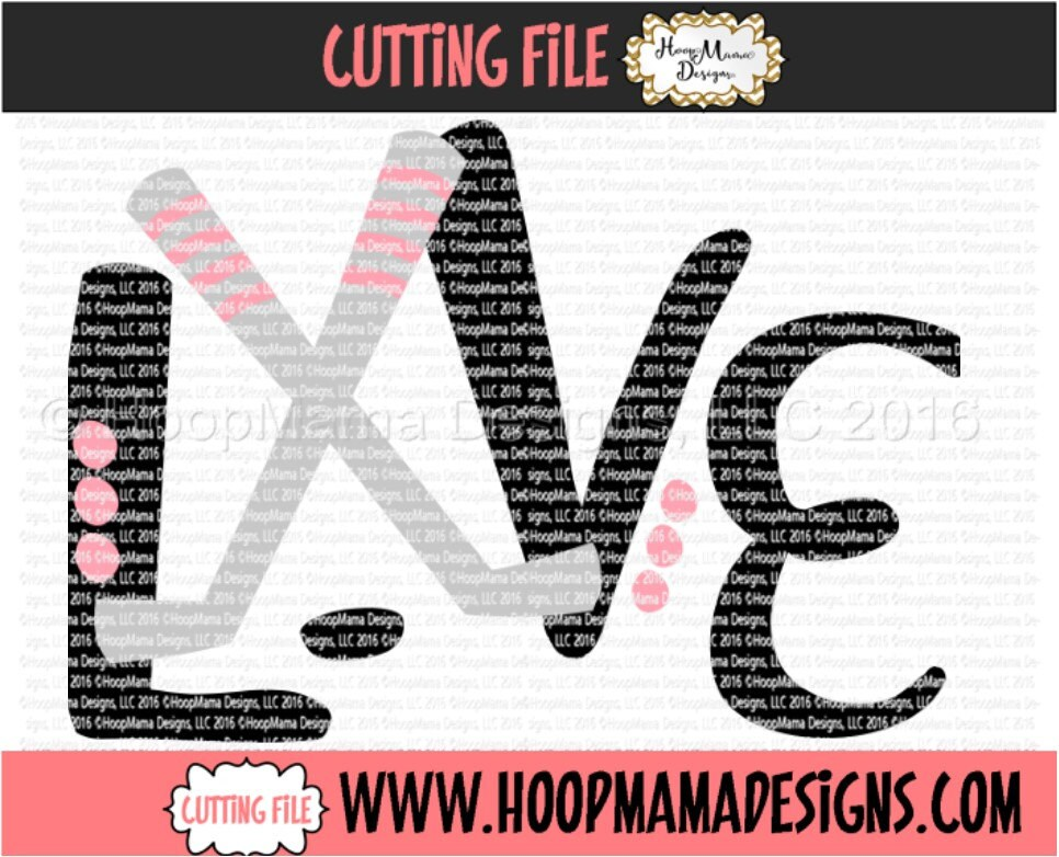 Download Love With Hockey Sticks SVG DXF eps and png Files for ...