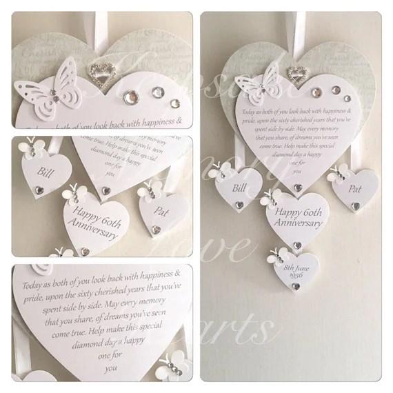 Personalised Wooden Keepsake Heart