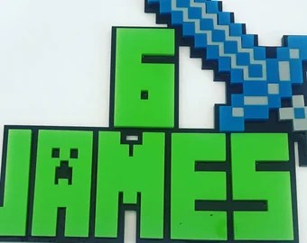 Minecraft Inspired Characters 8x8 Canvas Etsy