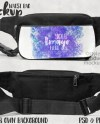Dye Sublimation Waist Bag Mockup Add Your Own Image And Etsy