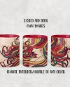 Dye Sublimation 11oz Mug With Color Accent Interior And Handle Etsy