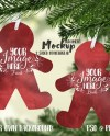 Gingerbread Man Shaped Double Sided Aluminum Christmas Etsy