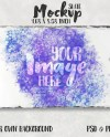Dye Sublimation 4 68 X 8 58 Rectangle Slate Mockup Add Your Etsy