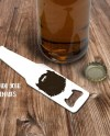 Bottle Shaped Bottle Opener Mockup Template Add Your Own Etsy