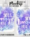 Dye Sublimation Rectangle 4623 Luggage Tag Mockup Add Your Etsy