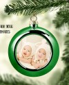 Metallic Ball Christmas Ornament Mockup Template Add Your Own Etsy