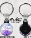 Button With Key Ring Mockup Template With Front And Back View Etsy