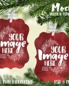 Vertical Benelux Shaped Double Sided Christmas Ornament Mockup Etsy