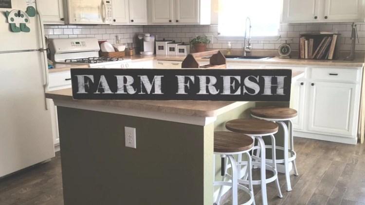 Farm Fresh Sign Kitchen Decor Farmhouse Decor Pantry Decor Etsy