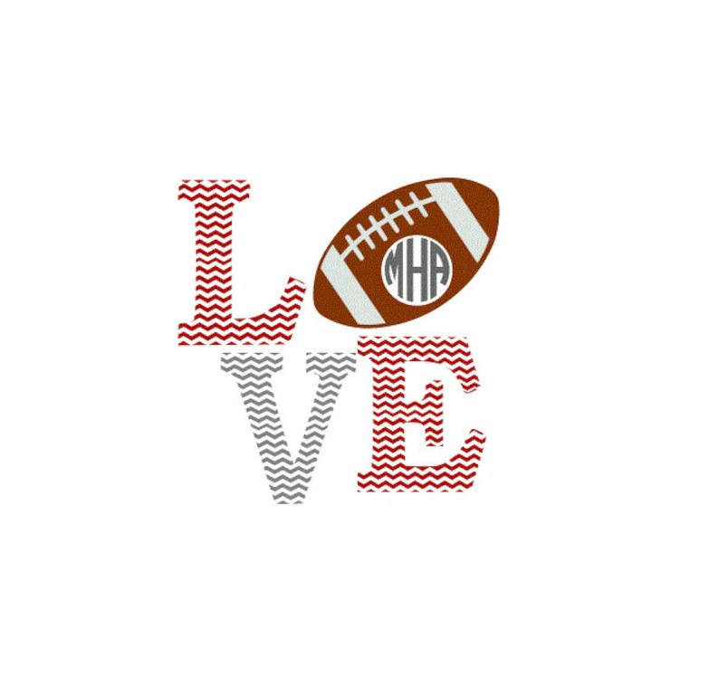 Download Football Chevron Love SVG Studio 3 DXF AI ps and pdf   Etsy