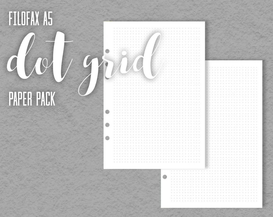 Dot Grid Printable Paper,...