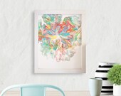 Abstract Painting, Framed...