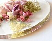 "Bouquet Preservation, Brides, RESERVE YOUR SPOT! 11"" Round, Keepsake, Wall Art,  Flower Preservation"