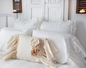 shabby chic pillow etsy