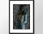 Janis Joplin Take Another Piece Of My Heart - PRINTED Boys Geek girls man cave nerds bedroom office