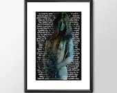 Janis Joplin Take Another Piece Of My Heart - PRINTED Boys Geek girls man cave nerds bedroom office