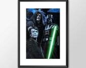 Return Of The Jedi - Star wars - PRINTED - Boys Geek man cave nerds bedroom office kids
