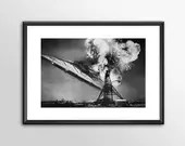 Star Wars Art - Hindenburg Star Destroyer Alternative Star Wars - PRINTED  Big Boys and girls Geek man woman cave nerds bedroom office kids