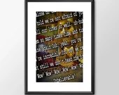 Wow - Kate Bush Tribute - PRINTED music tribute Art bedroom office old style lounge kitchen home decor