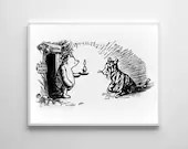 Winnie The Pooh Traditional Artwork 3  Traditional Art Classic kids bedroom office nursery old style lounge kitchen home decor