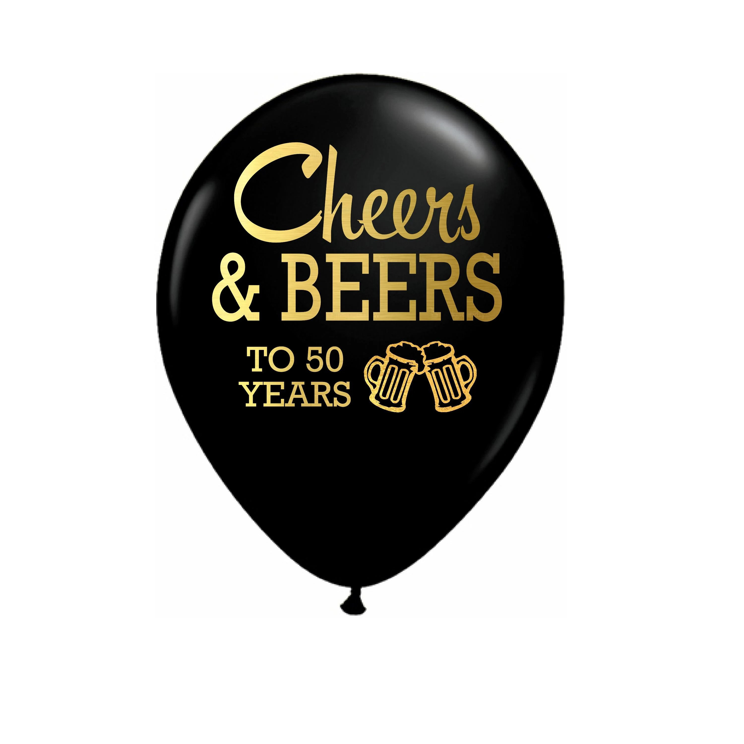 Cheers And Beers To 50 Years 50th Birthday Party Balloon 50th Birthday Party Decor 50th Birthday Decoration 50th Birthday Balloon Balloons Party Decor