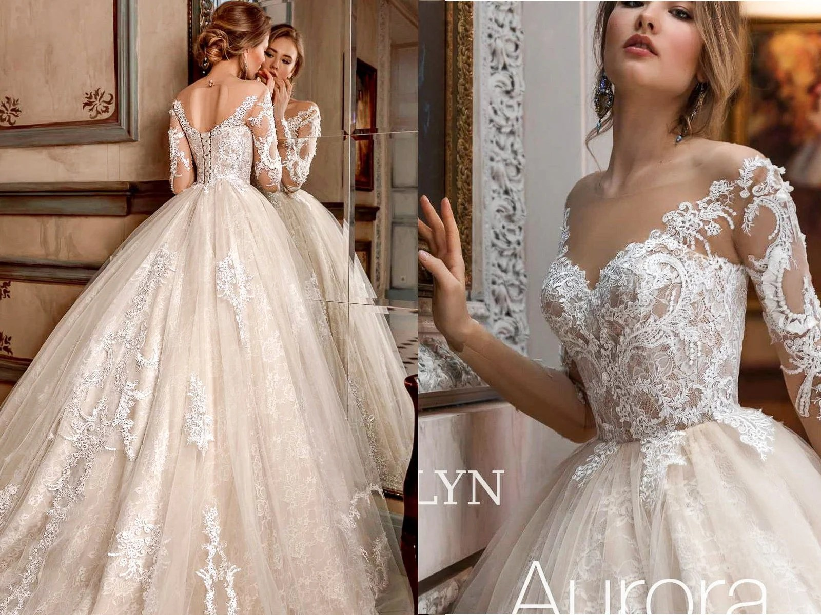 Ball Gown Wedding Dress EVELYN Wedding Dresses Bridal