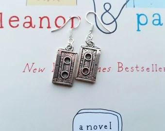 Eleanor and Park Cassette Earrings