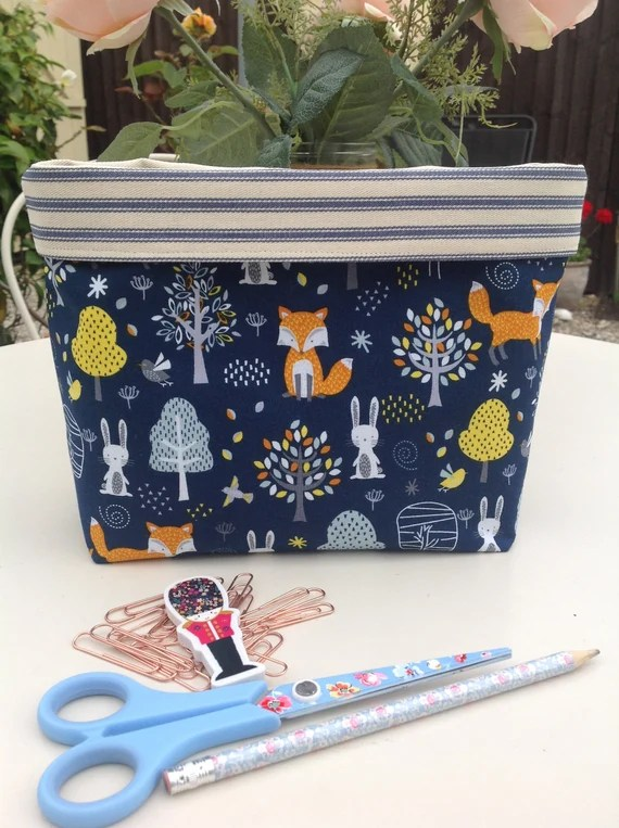 Fox Desk Tidy by lovinglylavender