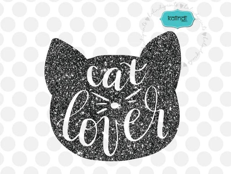Download Cat lover svg hand lettered kitty svg cat lover svg animal ...