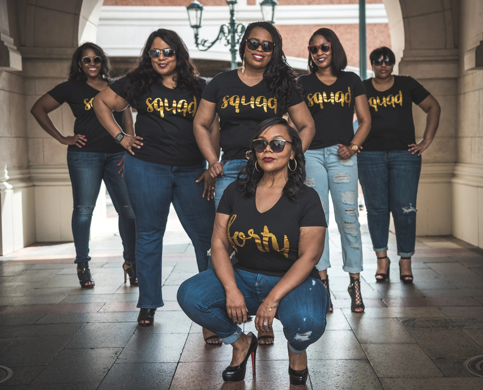 Birthday Squad Shirts For Women Birthday Queen Shirt 40th Birthday Shirt Women 40 Birthday For Women 40th Birthday Gifts For Women