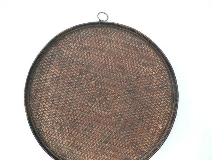 large round ottoman tray etsy