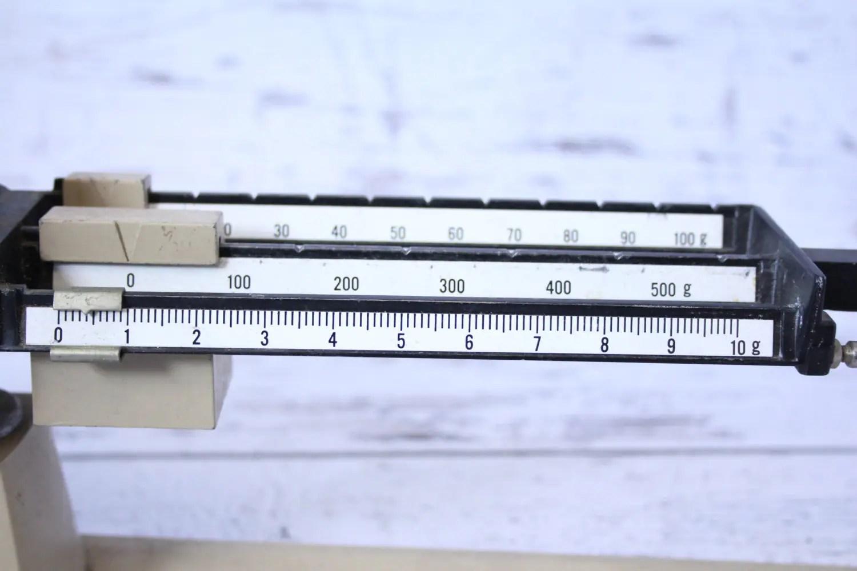 Ohaus Triple Beam Balance Scale Model 700 Beige Black