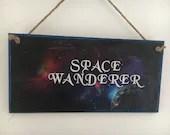 Space Wanderer Handpainte...