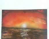 Original Art ~ Sunset ~ B...