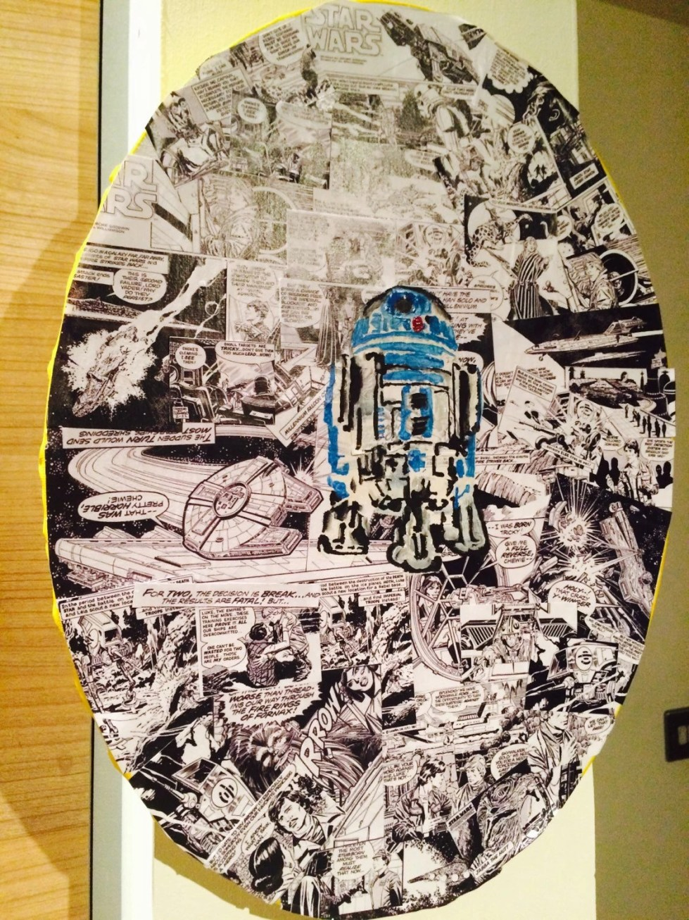 Star Wars ~ R2D2 Painting...